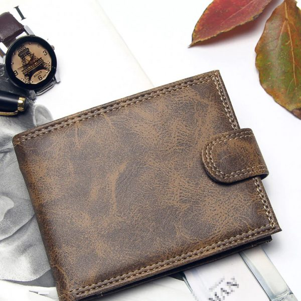 PU Leather Luxury Bifold wallet